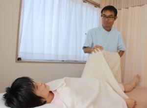 町田市の仄々鍼灸院の整体手技、痛くない心地よいとお喜び頂きます